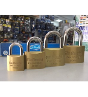 St Guchi Brass Security Padlock 20mm,30mm, 40mm,50mm,60mm