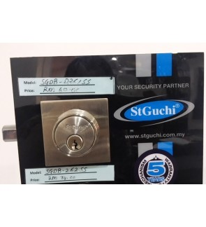 St Guchi Heavy Duty Single Square DeadBolt Lock