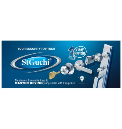 St Guchi Adjustable Hold Open Arm Door Closer SGDC-72H