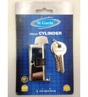 St Guchi Single Dead Lock Cylinder 55mm