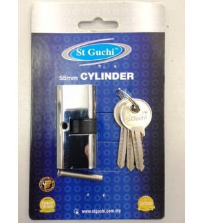 St Guchi Double Dead Lock Cylinder 55mm