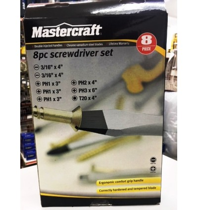 Mastercraft ScrewDriver Set