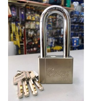 Colex Stainless Steel Long Shackle Padlock 50mm