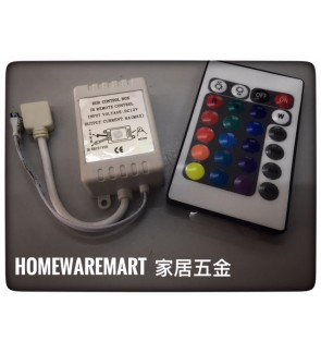 RGB LED Indoor Strip Remote Control