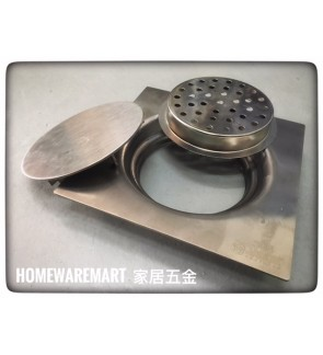 Heavy Duty Stainless Steel 304 Floor Grating With Filteration