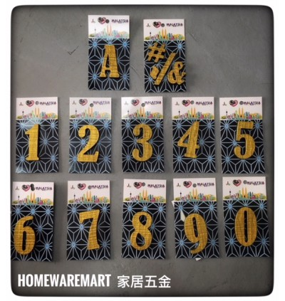 Antique House Number Design For House And Room Decoration