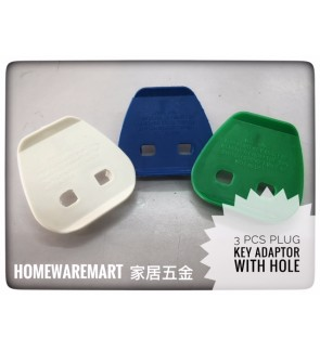 Plug key Adaptor with Hole