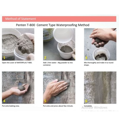 Waterproof Water Plug Cement Leaking
