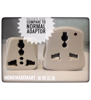 International Universal Multi Adaptor/Travel Plug/Socket/Adapter with Neon Light Indicator