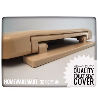 Heavy Duty Ivory Colour Toilet Seat Cover