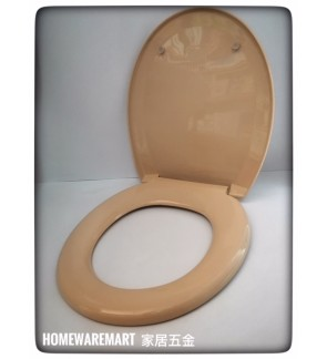 Heavy Duty Peach Colour Toilet Seat Cover