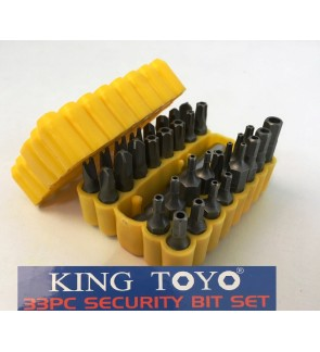 King Toyo 33 pcs Heavy Duty Screwdrivers Hexagon Bit Set