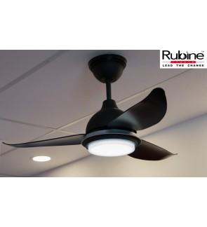 Rubine Elegant Ceiling Ampio Baby Fan With Light 38inch