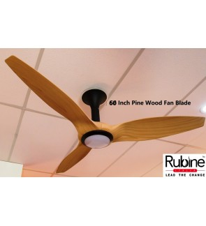 Rubine Elegant Ceiling Intero Fan With Light 60 Inch