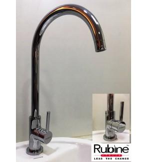 Rubine Pillar Kitchen Sink Waterbibtap