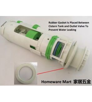 Rubber Gasket Washer For Outlet Valve Cistern Toilet Bathroom Accessories To Prevent Leaking