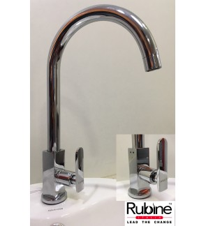 Rubine Pillar Kitchen Sink Waterbibtap