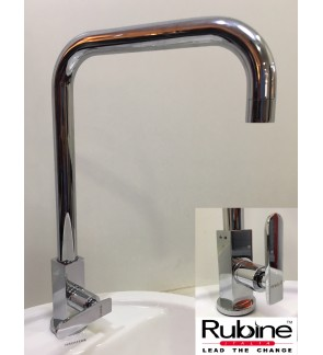 Rubine Pillar Kitchen Sink Waterbibtap Faucet
