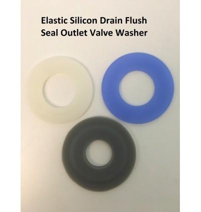 Silicone Drain Flush Valve Seal Washer Anti-leakage Toilet Accessory