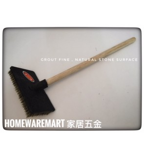 Stone Brush For Cleaning Harderned Grout Joint, Stone Surface ​