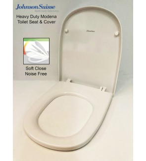 Johnson Suisse Heavy Duty Modena Toilet Seat Cover