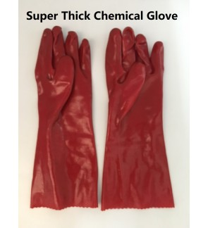 Super Heavy Duty Industrial Chemical Rubber Glove