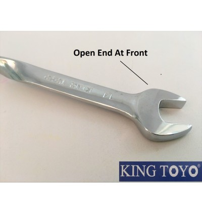 Super Heavy Duty And Extra Long Twisted Combination Spanner Wrench For Automotive , Industrial , Mechanical , Machinery Usage