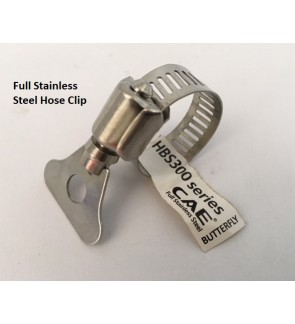 Full Stainless Steel Super Heavy Duty 3/4 Inch Hose Clip For Gardening Water Hose