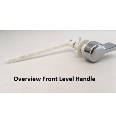 Front Level Handle For Toilet Cistern