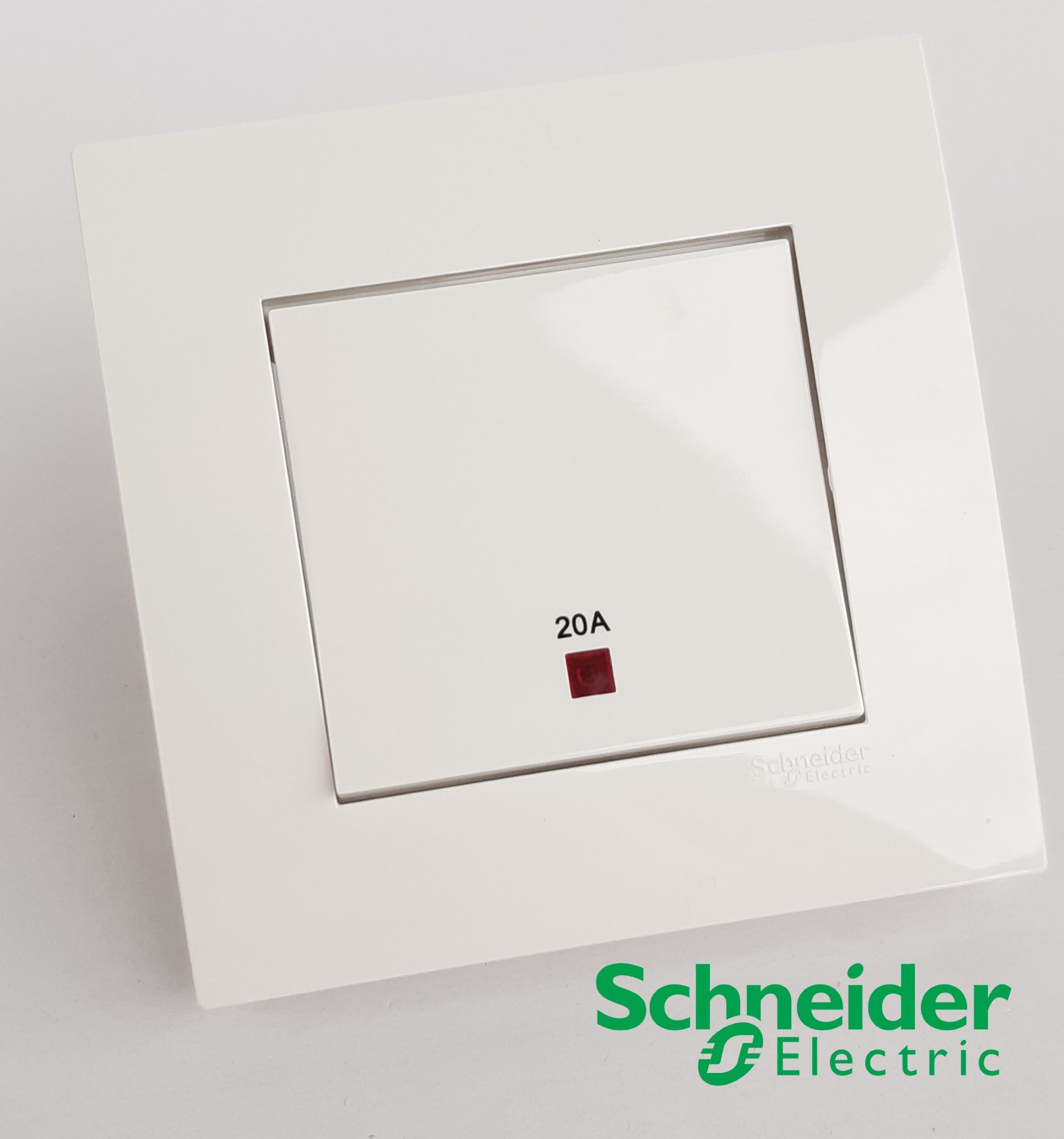 Schneider Vivace Double Pole 20A Switch 1 Gang