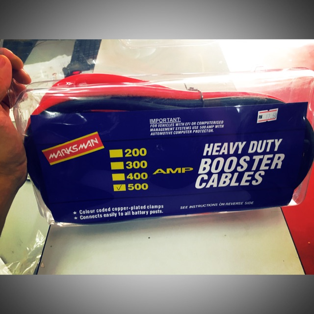 500A Heavy Duty Booster Cable