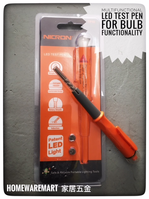 Nicron Multi functional LED Test Pen For Bulb Failure , Direct Test