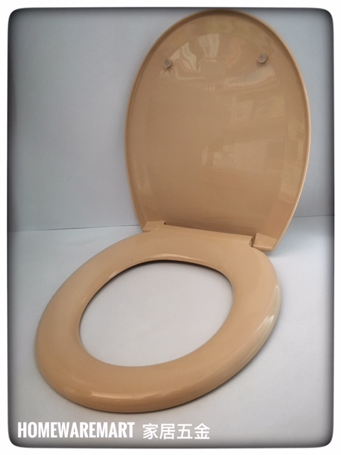 Outstanding Heavy Duty Peach Colour Toilet Seat Cover Pdpeps Interior Chair Design Pdpepsorg
