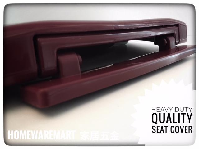 Fantastic Heavy Duty Maron Red Colour Toilet Seat Cover Dailytribune Chair Design For Home Dailytribuneorg